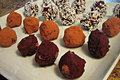 No Bake Healthy Chocolate Truffles with Secret Ingredient