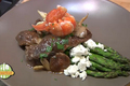 How To Make Beef Mushroom Steak With Asparagus And Buttered Lobster