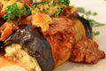 How To Make Vegan Eggplant Rollatini With Grilled Tomato Sauce