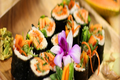 Raw Vegan Papaya Sushi Rolls