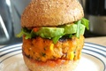 Vegan Sweet Potato Burger