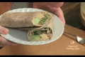 Healthy Vegan Wrap with Hummus Recipe Video