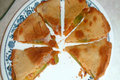 How To Make Vegetable Quesadilla