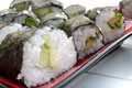 How To Make Aishiteru Veggie Sushi!