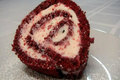 Red Velvet Cake Roll -- Lynn's Valentine's Day