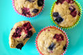 Easy Breakfast : Very Berry Muffins for Kids