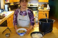 How To Make Vietnamese Bamboo Shoots and Chicken Noodle Soup - Part 6 - Chicken Shallots Mixture