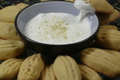 How To Make Walnut Biscuits With Marshmallow Dip