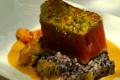 How To Make Wasabi Pea Pistachio Crusted Ahi With A Watermelon Salad