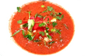 Watermelon and Feta Cheese Summer Soup