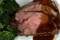 Rosemary & Garlic Rubbed Roasted Beef Sirloin
