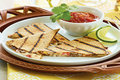 Wegmans Mushroom & Goat Cheese Quesadillas
