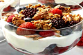Healthy Fruity Chocolate Yogurt Parfait Recipe Video
