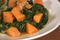 How To Make Yams And Collards With Chilli