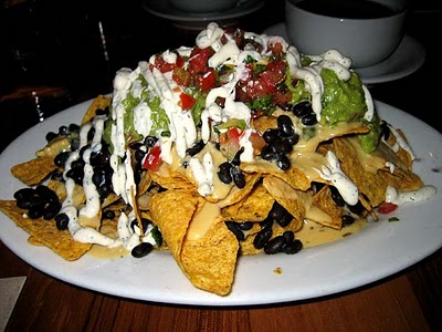 10 gluten-free food recipes: Gluten-Free Black Bean and Blue Tortilla Nachos