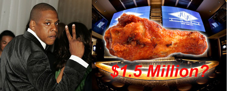 Jay-Z slap 1.5 million suit on Chef