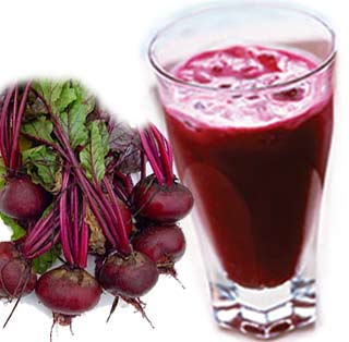 A cup of beetroot supplies us with thirty one food calories