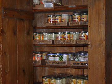 store canned foods at ambient temperature in a cool and dark place to extend their shelf life