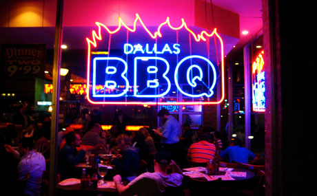 Top Ten Food Cities of America - Dallas BBQ