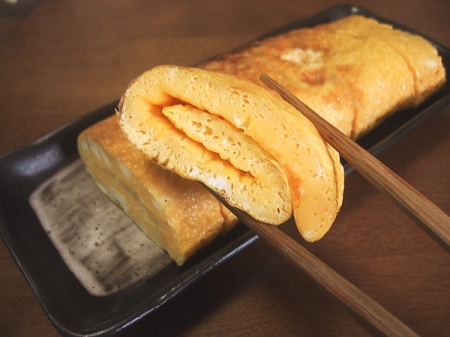 Datemaki is the main sweet dish of Japanese weddings
