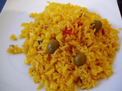 Cocina en canarias el arroz amarillo for Formas de preparar arroz