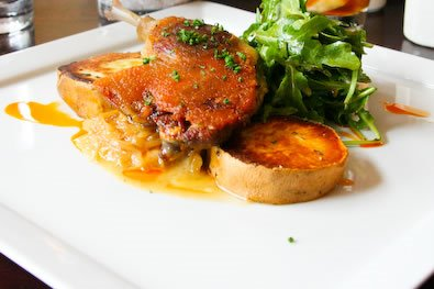 Tips on how to eat duck confit