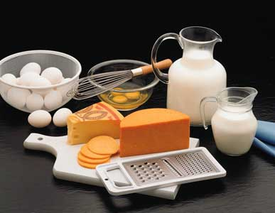 Diet rich in dairy products is essential to get strong bones