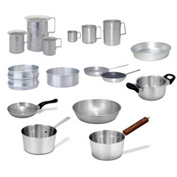 Store Aluminium pans well for ease at use