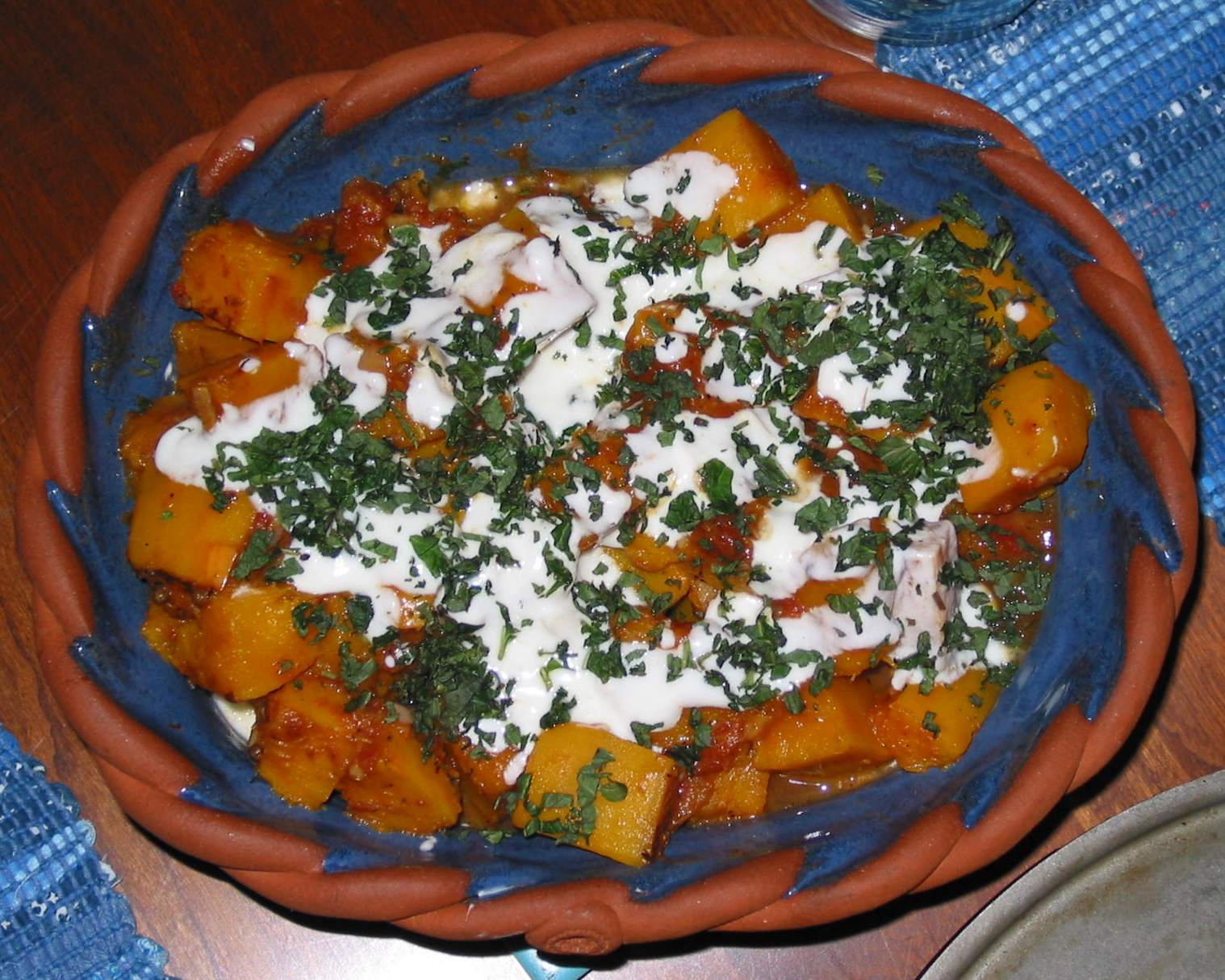 Kadoo Bouranee - A delectable sweet pumpkin dish from Afghanistan