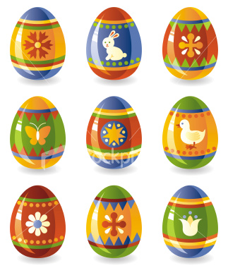 Easter eggs are beautifully decorated eggs which are a symbol of long life