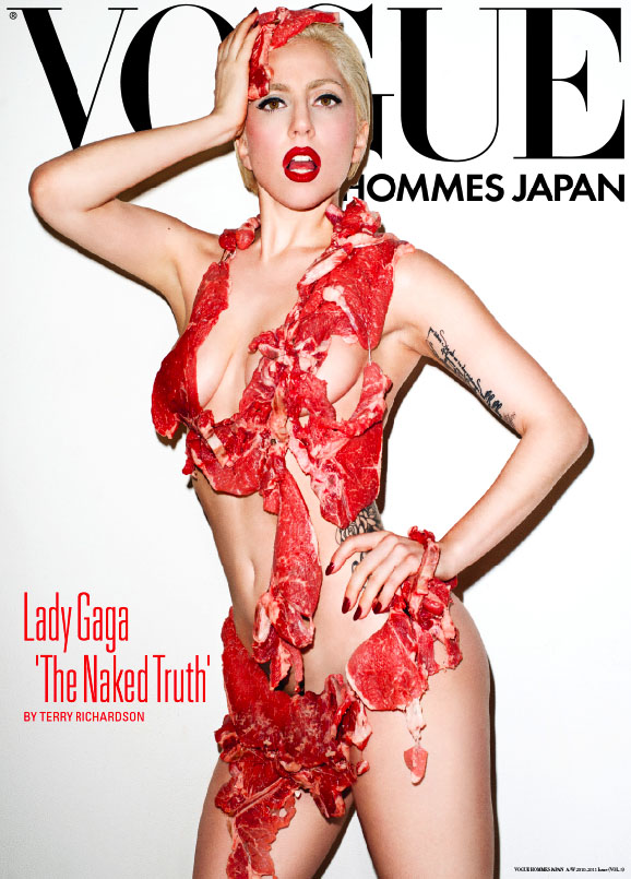 Lady Gaga's Raw Meat Bikini