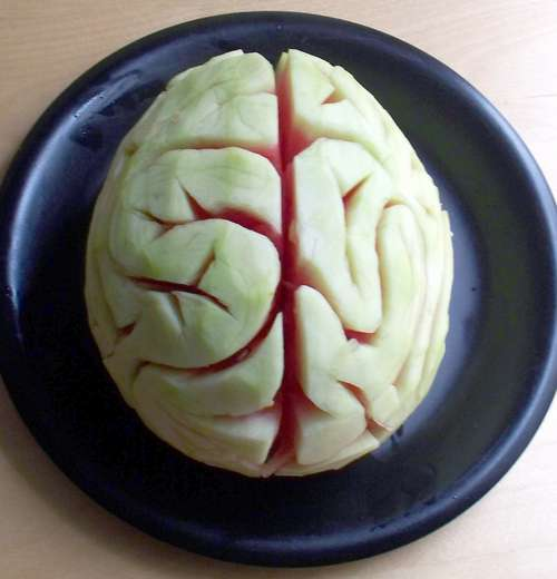 Halloween- Melon Brains