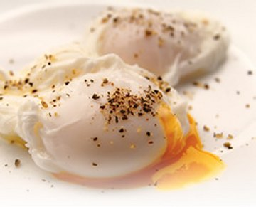 "Poached eggs are also known as ""sunny sides up"""