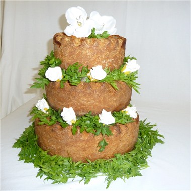Pork Pie Wedding cake 2