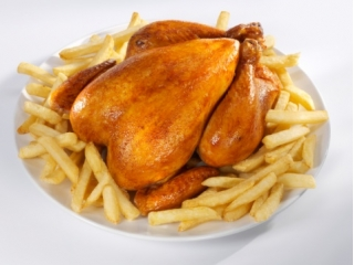 A meal of Poulet Frites is the quintessential Sunday brunch at almost all French Households