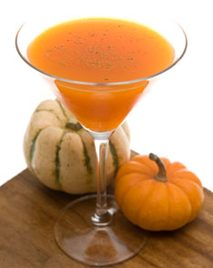 Pumpkin martini is a cocktail which is made from fresh pumpkins