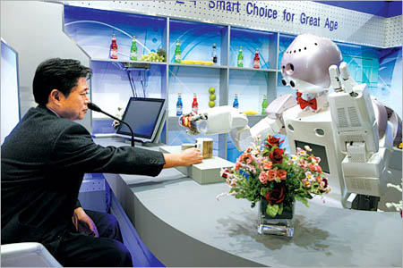 Robotic restaurants 2