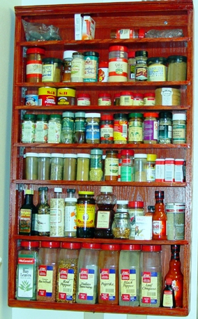Tips on how to stock spice cabinets