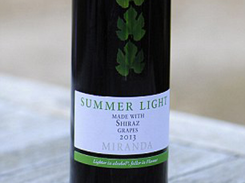 Summer Light Shiraz- Red