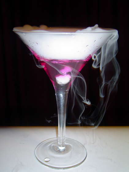 The color changing martini