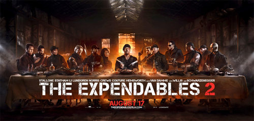 The Expendables 2- Last Supper