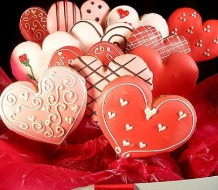 Valentine Day Fun Cookies