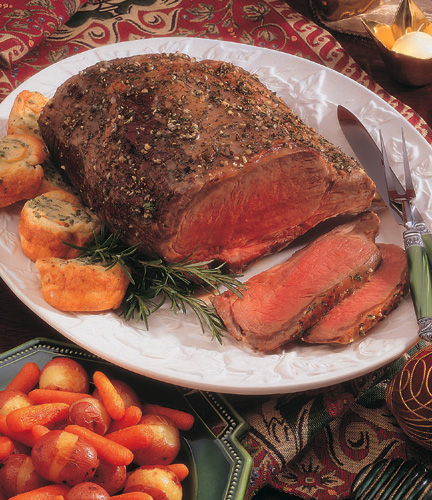 Good beef roast with leaner cuts and fine texture
