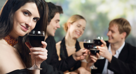 Wine tasting and promotional events are the places where the booze will surely be 100% free