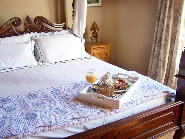 The perfect breakfast in bed