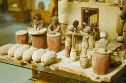 Model of Ancient beer making process