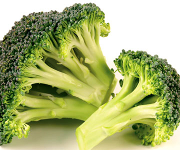 broccoli is rich in vitamin C