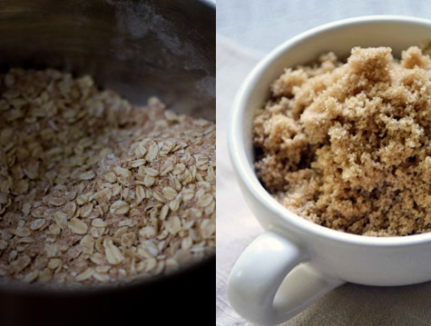 Brown Sugar and oatmeal