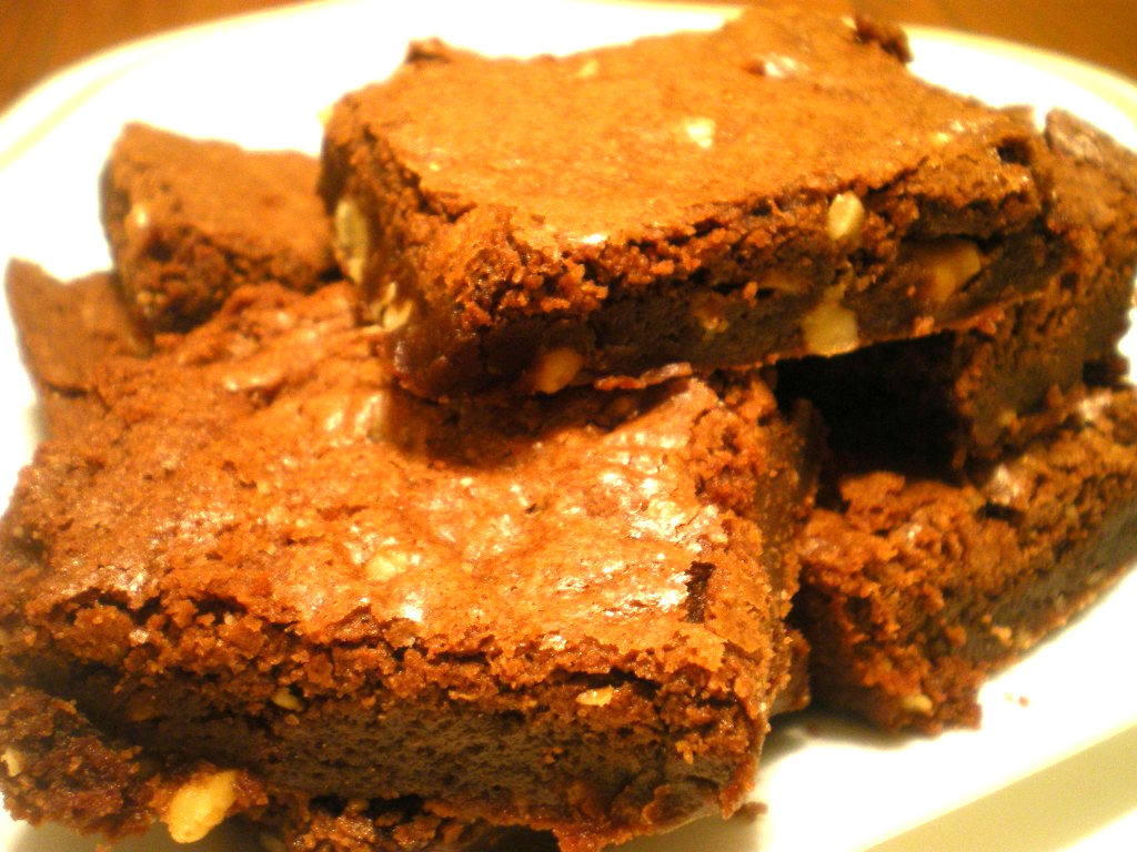 Chocolate  Bacon Brownie