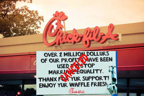 chick-fil-a-cancels anti gay donations